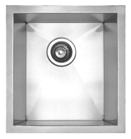 Square Stainless Undermount Sink Image