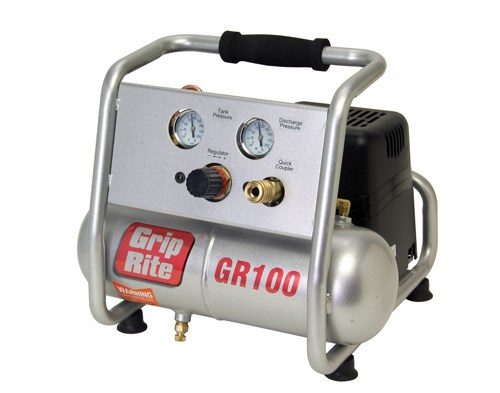 Grip Rite 1HP 1 Gallon Hand Carry Compressor GR100 Image