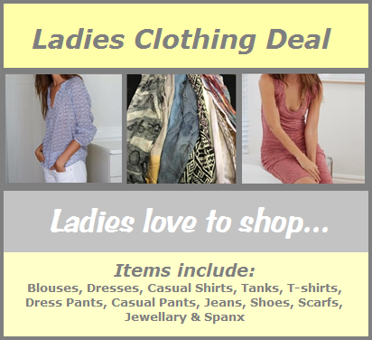 Ladies Clothing Deal Image