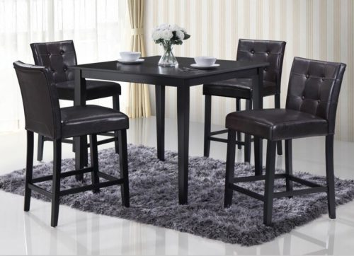 5pc Counter Height Dinette Set Image